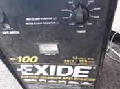 EXIDE Battery/Charger 70-100
